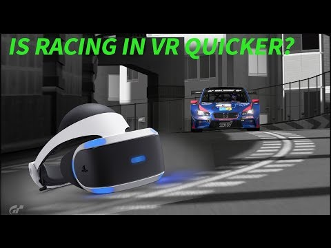 Does racing in VR make you faster?