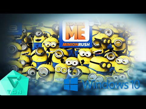 Despicable Me: Minion Rush (PC) | Gameplay On Windows 10 [1080p 60FPS]