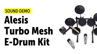 Alesis Turbo Mesh Kit - Sound Demo