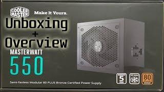 Cooler Master MasterWatt 550W Modular PSU Unboxing