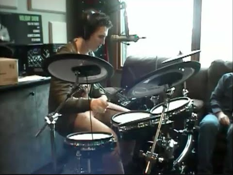 Miles Teller playing drums on Bob Rivers Show (WITH AUDIO)