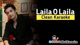Gambar cover Laila O Laila Karaoke | Ali Zafar | Urooj Fatima | BhaiKaraoke