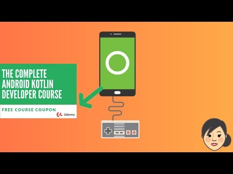 Udemy The Complete Android Kotlin Developer Course | Free Udemy Course Coupon