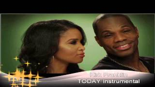 """Today"" by Kirk Franklin Instrumental Music Track"