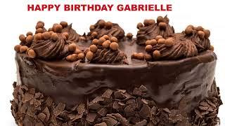 Gabrielle - Cakes Pasteles_513 - Happy Birthday
