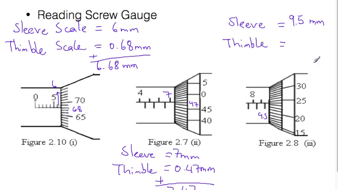 how to read micrometer screw gauge  YouTube