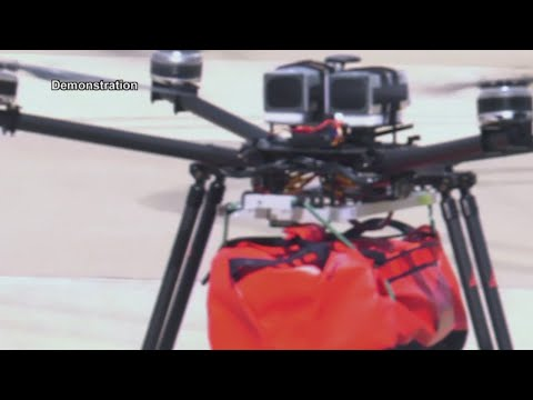 How Specially Equipped Medical Drones Could Save Lives