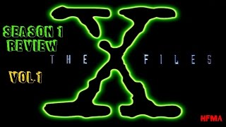 "The X-Files - season 1 review (Vol1.): Synopsis, the alien ""mytharc"""