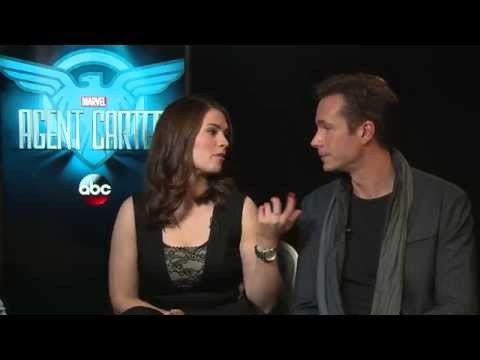 Marvel's Agent Carter – Hayley Atwell & James D'Arcy Intervi