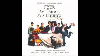 Love In The Rain (Film Score) - Four Weddings And A Funeral Soundtrack (1994) HD