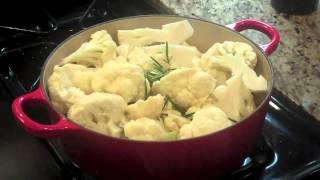 Easy Paleo Recipe - Mashed Cauliflower