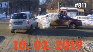 ☭★Подборка Аварий и ДТП/Russia Car Crash Compilation/#811/February 2019/#дтп#авария