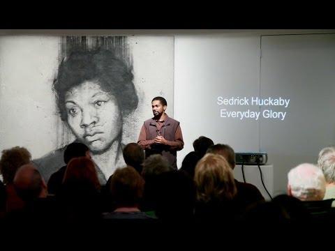 Sedrick Huckaby Artist Talk at Valley House Gallery, December 14, 2013