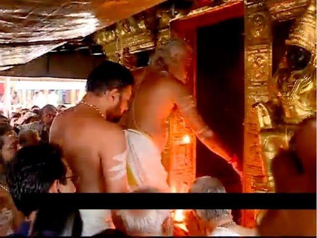Sabarimala opened | മഹാപ്രളയത്തിന് ശേഷം പൂജകൾക്കായി ശബരിമല നട തുറന്നു