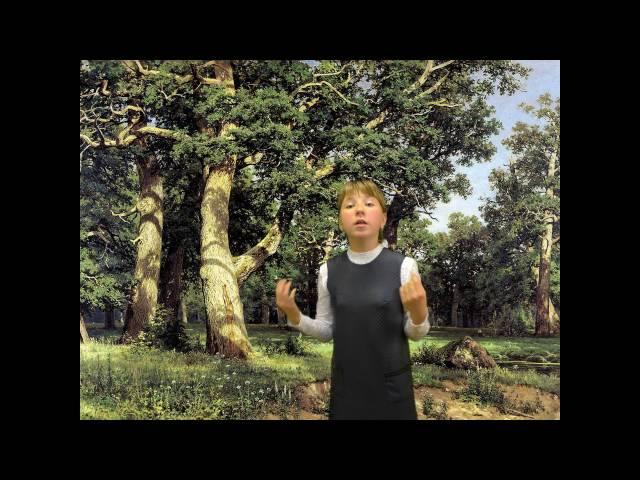 Попова Аделина читает произведение «Детство» (Бунин Иван Алексеевич)