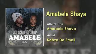 Kabza De Small FT Leehleza - Amabele Shaya Official Song (Audio) - South Africa Music