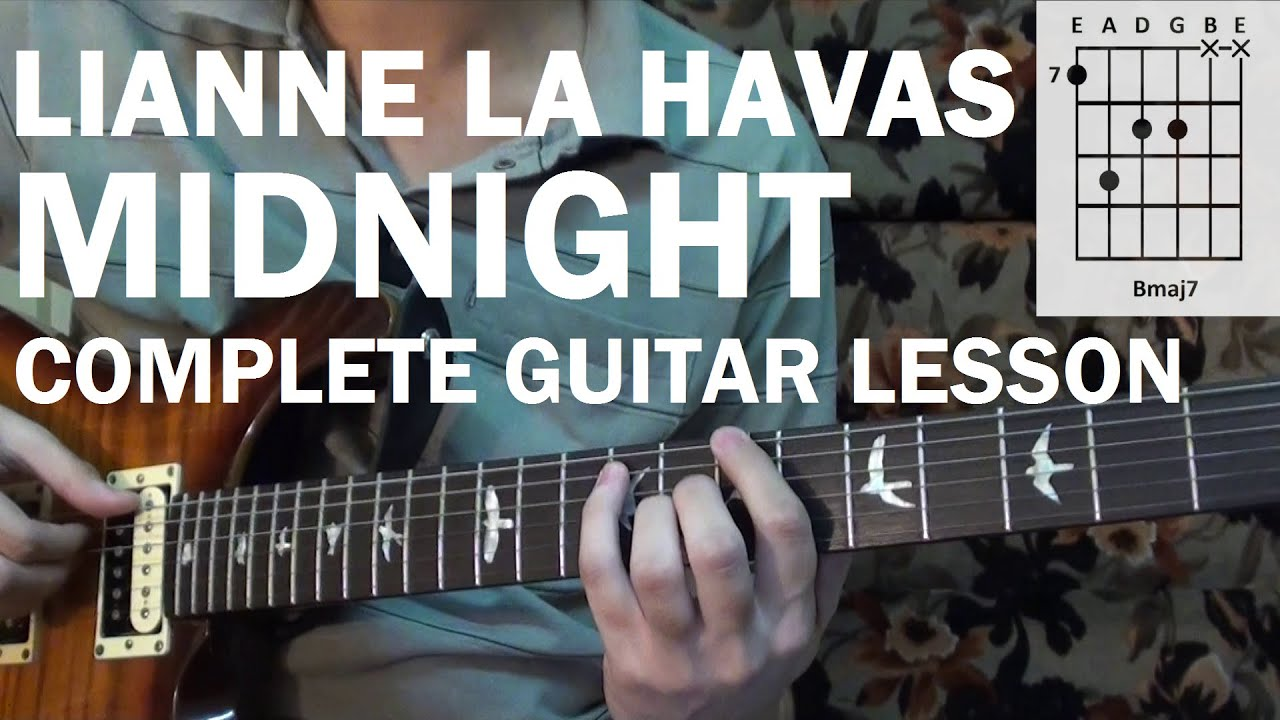 Lianne La Havas   Midnight   COMPLETE Guitar Lesson Tutorial How to Play