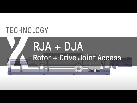 Rotor Joint Access (RJA) + Drive Joint Access (DJA)