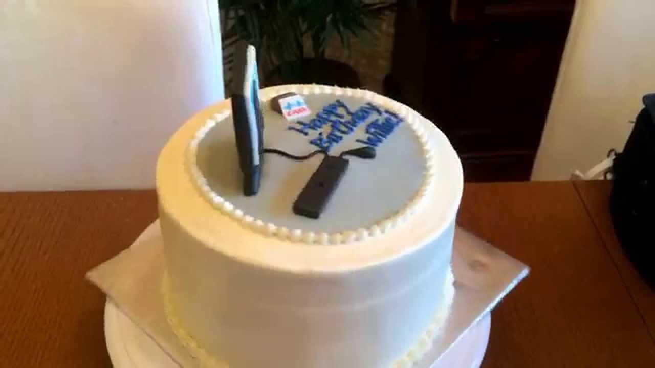 How To Make A Computer Cake