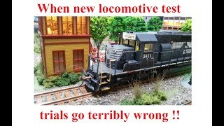 When new locomotive test trials go terribly wrong!
