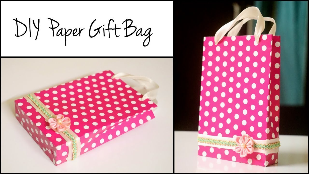 c439936091027 DIY Paper Gift Bag | Handmade Gift Bag Ideas | Paper Crafts EASY ...
