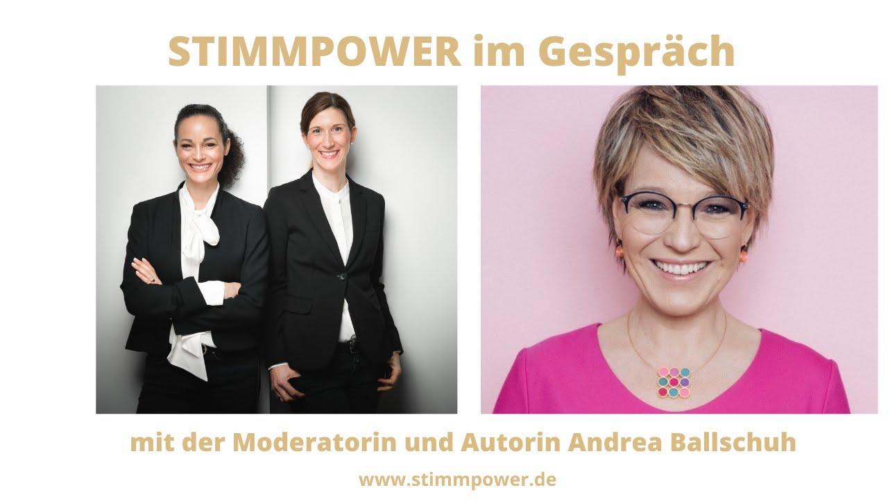 STIMMPOWER im Gespräch mit Andrea Ballschuh