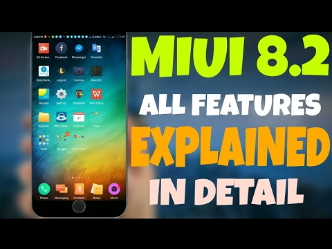 LATEST MIUI v8.2 FEATURES