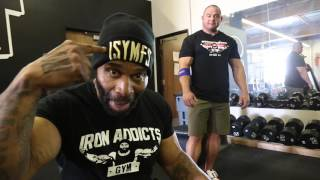 Blowing Up Biceps with CT Fletcher, Mark Bell, and Silent Mike