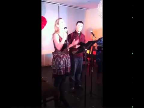 Erin Cronican and friends sing
