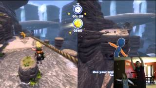 3rd level Canyon Expedition on Up from Kinect Rush A Disney Pixar Adventure