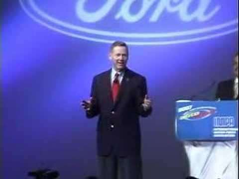 Alan Mulally's George Bush hydrogen hybrid story