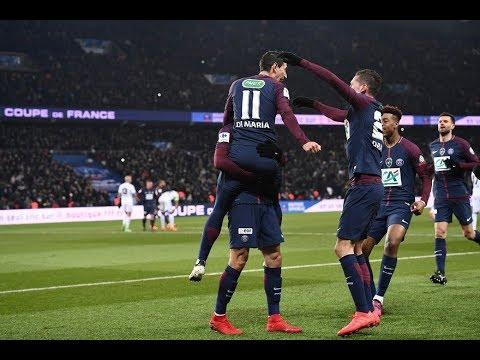PARIS-MARSEILLE 3-0 MATCH DE COUPE DE FRANCE DU 28 FEVRIER 2018: LES 3 BUTS DU MATCH !
