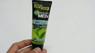 Garnier Men Oil Clear Matcha D-tox Gel Facewash Full Review