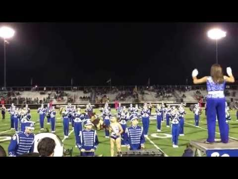 Louisville High School Marching Band - 3rd movement from 10/03/14 halftime show