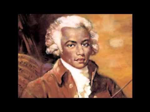 THE BLACK MOZART - Joseph Boulogne Chavalier de Saint Georges - Violin Concertos HQ