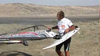 Speed World Record in windsurfing for Antoine Albeau : 52.05 knots in Luderitz, Namibia
