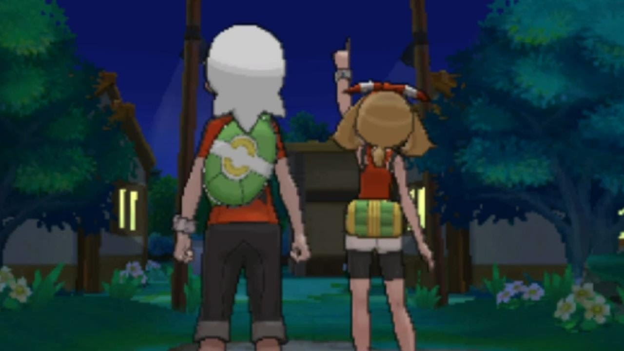 Pokemon Omega Ruby and Alpha Sapphire - May and Brendan ...