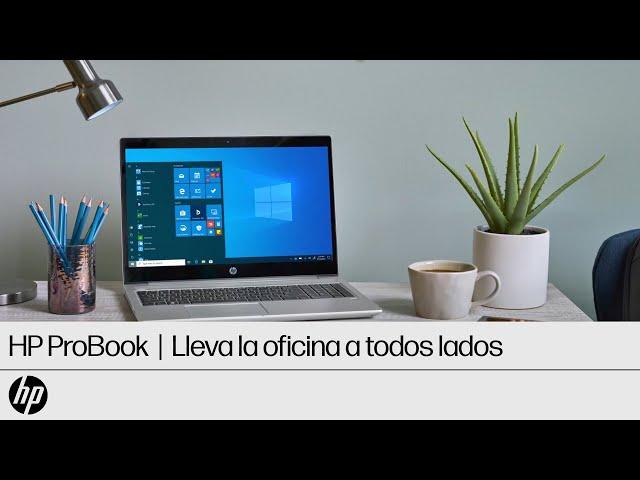 Mantén la productividad en cualquier parte con la HP ProBook Serie 400 | HP
