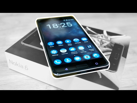 Thumbnail: Nokia 6 - Unboxing & Hands On!
