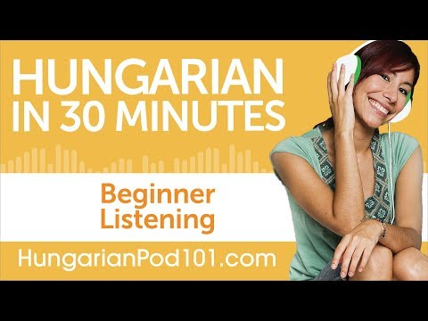 30 Minutes of Hungarian Listening Comprehension for Beginner