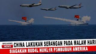 Download BERITA TERKINI ~ CHINA LAKUKAN SER4NGAN PADA MALAM HARI, SIAGAKAN RUD4L NUKL1R P3MBUNUH AMERIKA