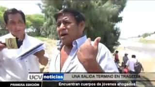ENCUENTRAN CUERPOS DE JÓVENES AHOGADOS-UCV NOTICIAS PIURA