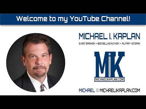Michael I. Kaplan:  Welcome to my YouTube Channel!