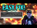 EASY FIX! Please wait, Retrieving data from 2K Sports Server