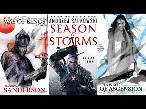 WITCHER & COSMERE READALONG | 2019 BUDDY READS thumbnail