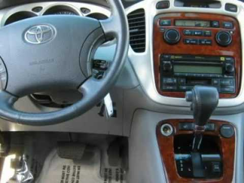 TOYOTA HIGHLANDER YouTube - 2004 highlander