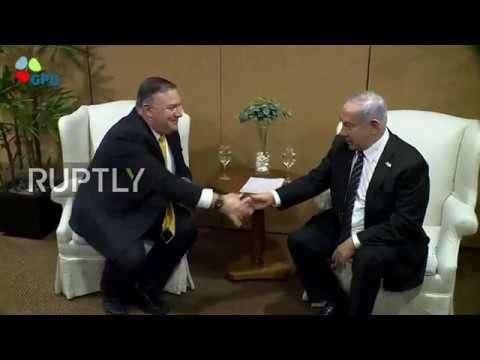 Brazil: US 'protection of Israel' to continue despite Syria decision, Pompeo tells Netanyahu
