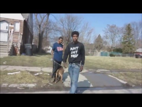 DETROIT:  AMAZING GHETTO SCENERY/ A TALK WITH A LOCAL
