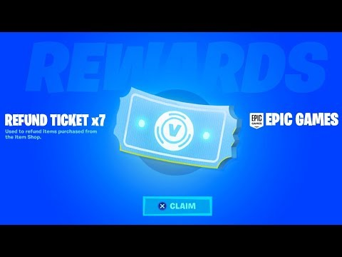 CLAIM 7 REFUND TICKETS In Fortnite! (NEW)