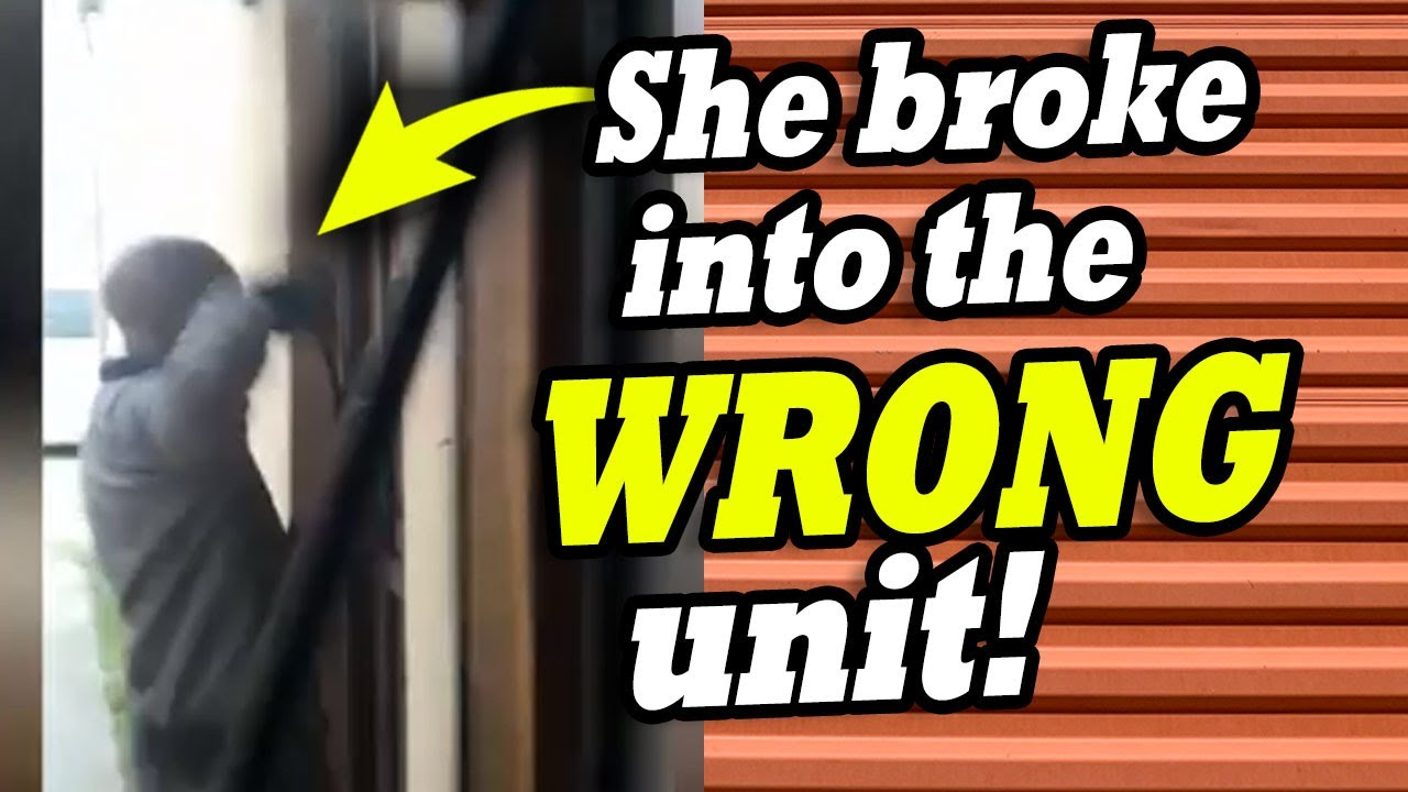 She BROKE into the WRONG STORAGE ~ treasure hunt in mystery boxes from the $11,800 two locker combo